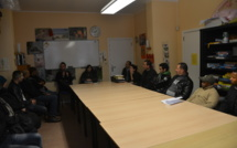TM Titres services invité au Centre Social du Beguinage à Bruxelles pour un présentation