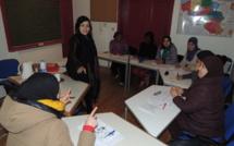 Perfectionnement en français pour certaine aide-ménagère de TM Titres Services organisé en partenariat avec le centre social du beguinage